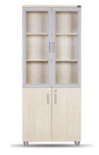 шкаф со стеклом 80*40*190