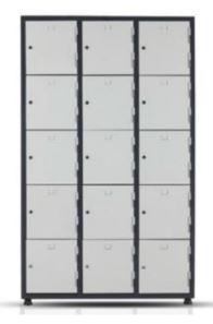 Металлический шкаф 5