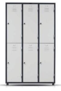 Металлический шкаф 10