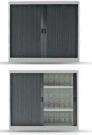 Металлический шкаф 16