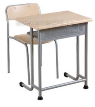 Парта одноместная + стул ученический нерегулируемый
