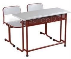 Парта двухместная + стулья