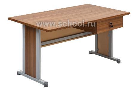Стол учителя с одним ящиком