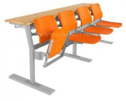 Кресло среднего ряда 4-местное